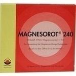 Verpackungsbild(Packshot) von MAGNESOROT 240 Beutel