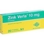 Verpackungsbild(Packshot) von ZINK VERLA 10 mg Filmtabletten