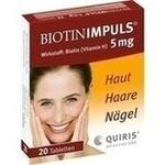 Verpackungsbild(Packshot) von BIOTIN IMPULS 5 mg Tabletten