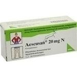 Verpackungsbild(Packshot) von AESCUSAN 20 mg N Filmtabletten