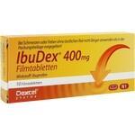 Verpackungsbild(Packshot) von IBUDEX 400 mg Filmtabletten