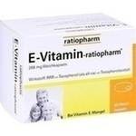 Verpackungsbild(Packshot) von E VITAMIN-ratiopharm Kapseln