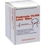 Verpackungsbild(Packshot) von PANKREATIN 20.000 Laves Mikro magensaftr.Hartkaps.