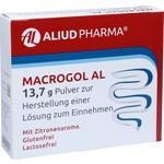 Verpackungsbild(Packshot) von MACROGOL AL 13,7 g Plv.z.Her.e.Lsg.z.Einnehmen