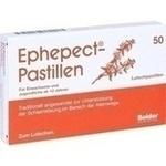 Verpackungsbild(Packshot) von EPHEPECT Pastillen