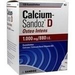 Verpackungsbild(Packshot) von CALCIUM SANDOZ D Osteo intens Kautabletten