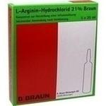 Verpackungsbild(Packshot) von L-ARGININ-HYDROCHLORID 21% Elek.-Konz.Inf.-Ls