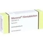 Verpackungsbild(Packshot) von MORONAL Filmtabletten