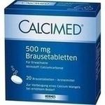 Verpackungsbild(Packshot) von CALCIMED 500 mg Brausetabletten