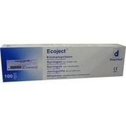 EINMALSPRITZE 2 ml Luer Ecoject
