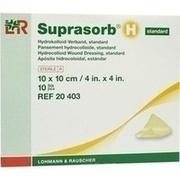 SUPRASORB H Hydrokoll.Verb.standard 10x10 cm