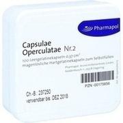 CAPSULAE Operculatae Kapseln Nr.2 0,37