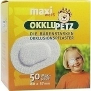 OKKLUPETZ Okklusionspflaster maxi weiß