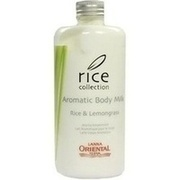 AROMATIC Body Milk Rice & Lemongrass