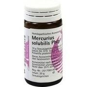 MERCURIUS SOLUBILIS PHCP Globuli