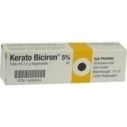 KERATO BICIRON 5% Augensalbe