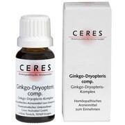 CERES Ginkgo dryopteris comp.Tropfen