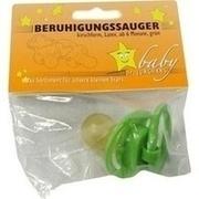 BERUHIGUNGSSAUGER Kirschf.Lat.ab 6 M.grün