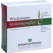 WIEDEMANN Homöokomplex C Ampullen