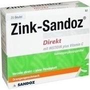 ZINK SANDOZ Direkt Beutel