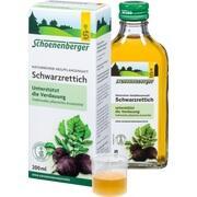 SCHWARZRETTICH Schoenenberger Heilpflanzens\a25fte