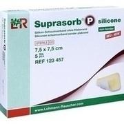 SUPRASORB P silicone Schaumverb.non bor.7,5x7,5 cm