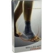 MALLEO-HIT Sprunggelenkbandage Gr.1 schwarz 07074