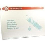 MULLTUPFER pflaumengroß 2+3 steril Set