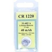 BATTERIEN Lithium 3V CR 1220