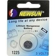 BATTERIEN Lithium 3V CR 1225