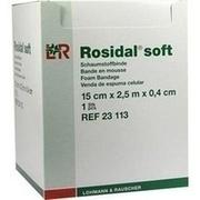 ROSIDAL Soft Binde 15x0,4 cmx2,5 m
