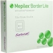 MEPILEX Border Lite Schaumverb.7,5x7,5 cm steril