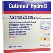 CUTIMED Hydro B Hydrok.Ver.7,5x7,5 cm m.Haftr.