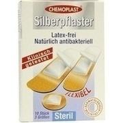 SILBERPFLASTER 3 Größen steril