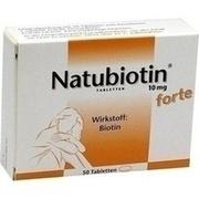 NATUBIOTIN 10 mg forte Tabletten