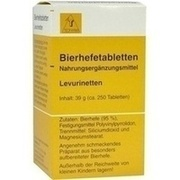 BIERHEFE TABLETTEN Levurinetten