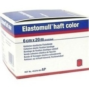 ELASTOMULL haft color 6 cmx20 m Fixierb.rot