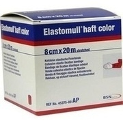 ELASTOMULL haft color 8 cmx20 m Fixierb.rot
