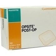 OPSITE Post-OP 5x6,5 cm Verband einzeln steril