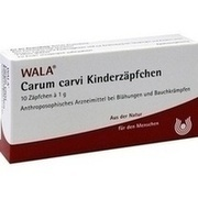CARUM CARVI Kinderzäpfchen 10X1 g