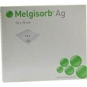 MELGISORB Ag Verband 10x10 cm