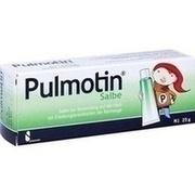 PULMOTIN Salbe