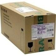 NATRIUMHYDROGENCARBONAT B.Braun 8,4% Glas
