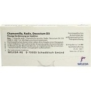 CHAMOMILLA RADIX D 3 Ampullen