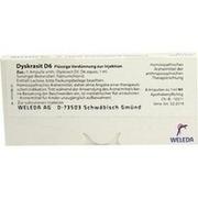 DYSKRASIT D 6 Ampullen