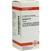 BERBERIS D 3 Tabletten