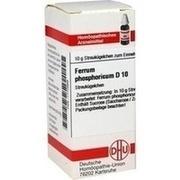 FERRUM PHOSPHORICUM D 10 Globuli