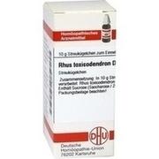 RHUS TOXICODENDRON D 4 Globuli