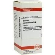 ZINCUM VALERIANICUM D 4 Tabletten