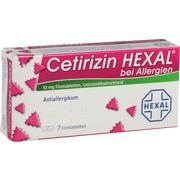 CETIRIZIN HEXAL Filmtabletten bei Allergien